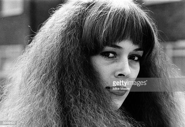 A model wearing permed hair