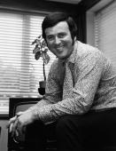 The Irish television and radio presenter Terry Wogan