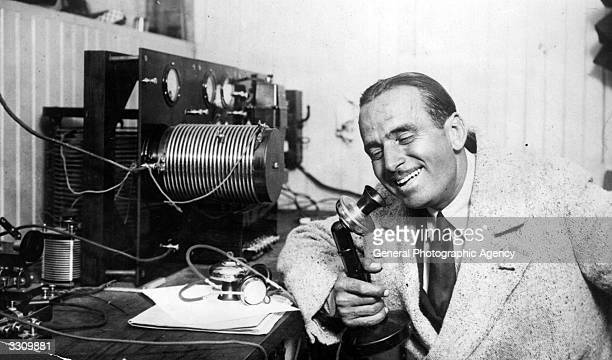 Douglas Fairbanks Snr the American film actor and member of the Rotary Club It seemed natural to him to use a radio set whilst in Los Angeles to...