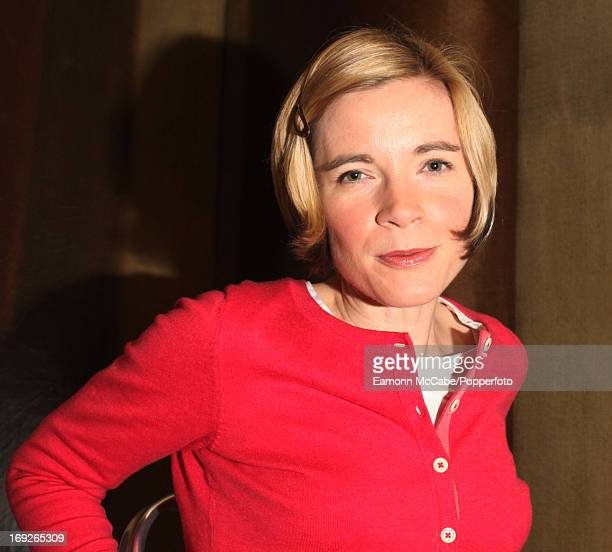 English historian and curator Dr Lucy Worsley posed at Kensington Palace in London on 17th March 2010