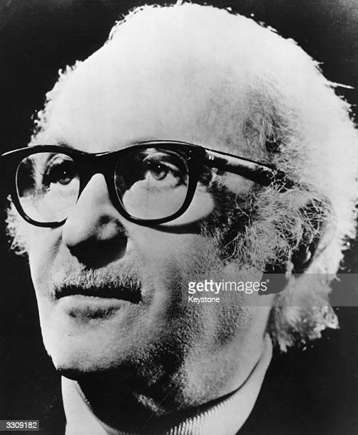 American actor and stage director Lee Strasberg who is most famous for his 'Actors Studio' where actors and actresses learn method acting