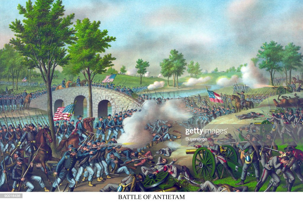 The Battle of Antietam or Battle of Sharpsburg the bloodiest battle of the American Civil War with around 23000 casualties While fought to a...