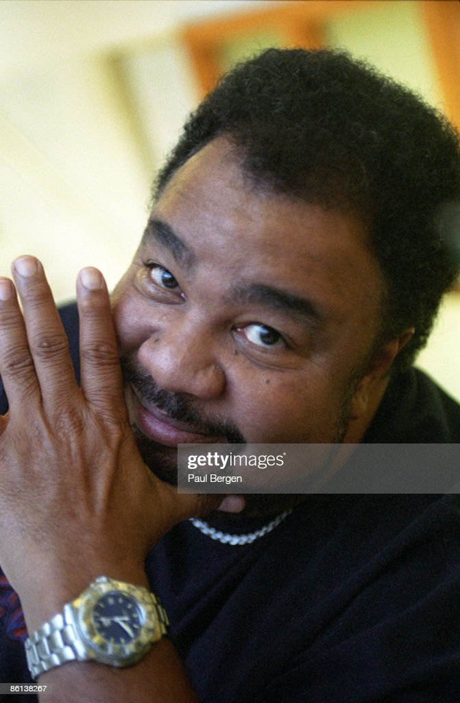 American musician George Duke (1946-2013) posed in Amsterdam, Netherlands on 17th September 2003.