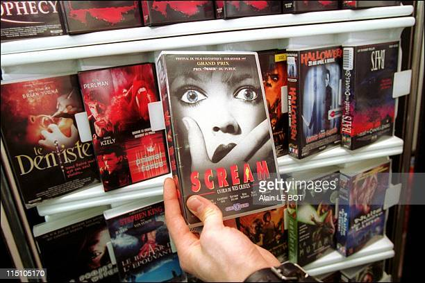 A 17year teenager stabs to death one of his girl friends aged 15 two weeks after seeing the scary movie 'Scream' in Saint Sebastien Sur Loire France...