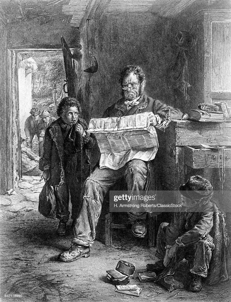 1850s BOY STUDENT KEPT...