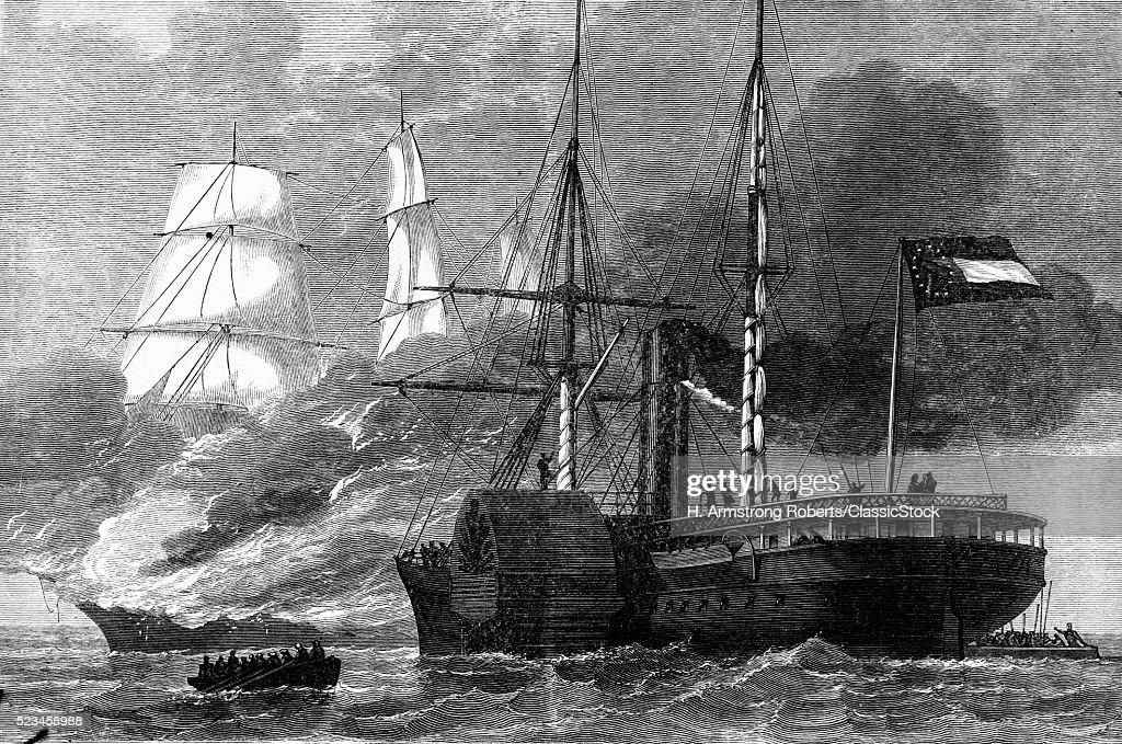 1860s AMERICAN CIVIL WAR...