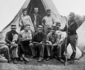 1860s GROUP OF NINE UNION...