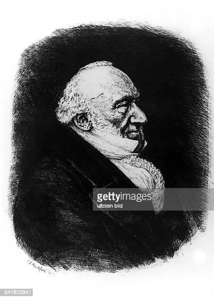 * 1784 1885Philantrop GB Porträt Stich oD