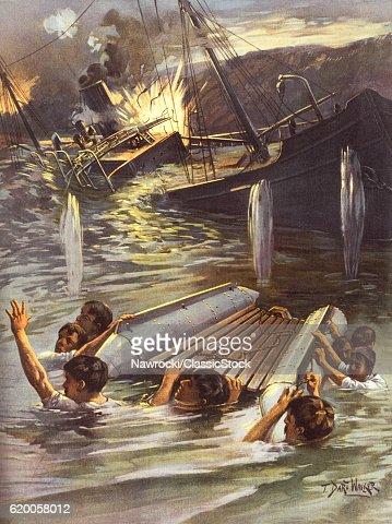 1890s SPANISH AMERICAN WAR...