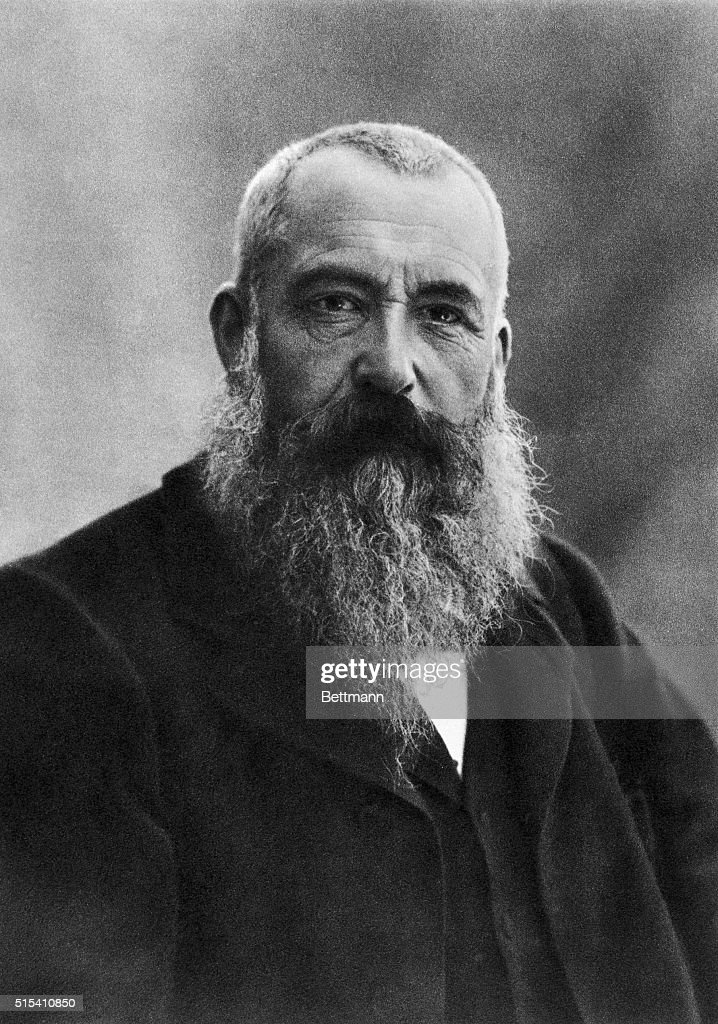 Portrait of <a gi-track='captionPersonalityLinkClicked' href=/galleries/search?phrase=Claude+Monet&family=editorial&specificpeople=79875 ng-click='$event.stopPropagation()'>Claude Monet</a> (1840-1926), French Impressionist painter. Photographer by Nadar.