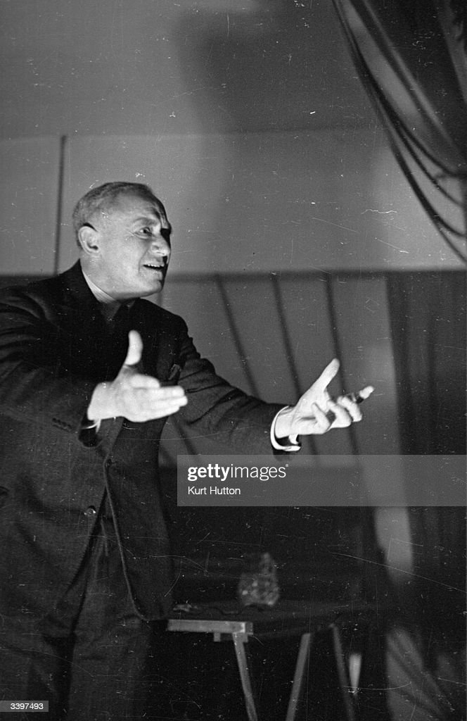 Emmanuel Shinwell (1884 - 1986), Chairman of the Labour Party and Minister of Fuel and Power in the newly elected Government. Original Publication: Picture Post - 2070 - New Faces In The Government - pub. 1945