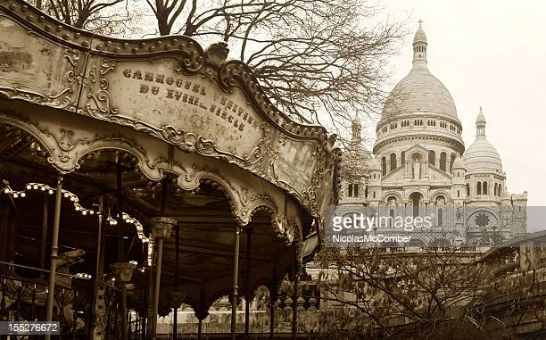 18th Century Carrousel and Sacre-Coeur
