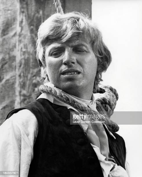 18th century criminal Jack Sheppard played by English singer and actor Tommy Steele with a noose around his neck in 'Where's Jack' directed by James...