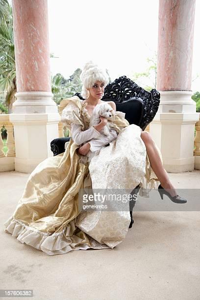 18 ème siècle-Couple Marie Antoinette de Style