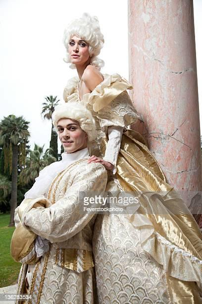 18th Century Marie Antoinette Style Costume Shoot