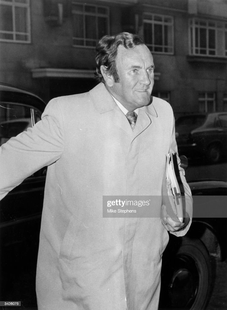 Former England manager Don Reivie arriving at Lancaster Gate to answer five separate charges of 'disrepute' before an FA commission headed by Harold Thompson.