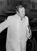 Former England manager Don Reivie arriving at Lancaster Gate to answer five separate charges of 'disrepute' before an FA commission headed by Harold...
