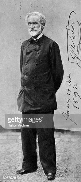 Italian composer Giuseppi Verdi