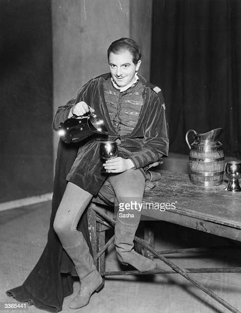 Maurice Evans as Iago in an Old Vic production of Othello