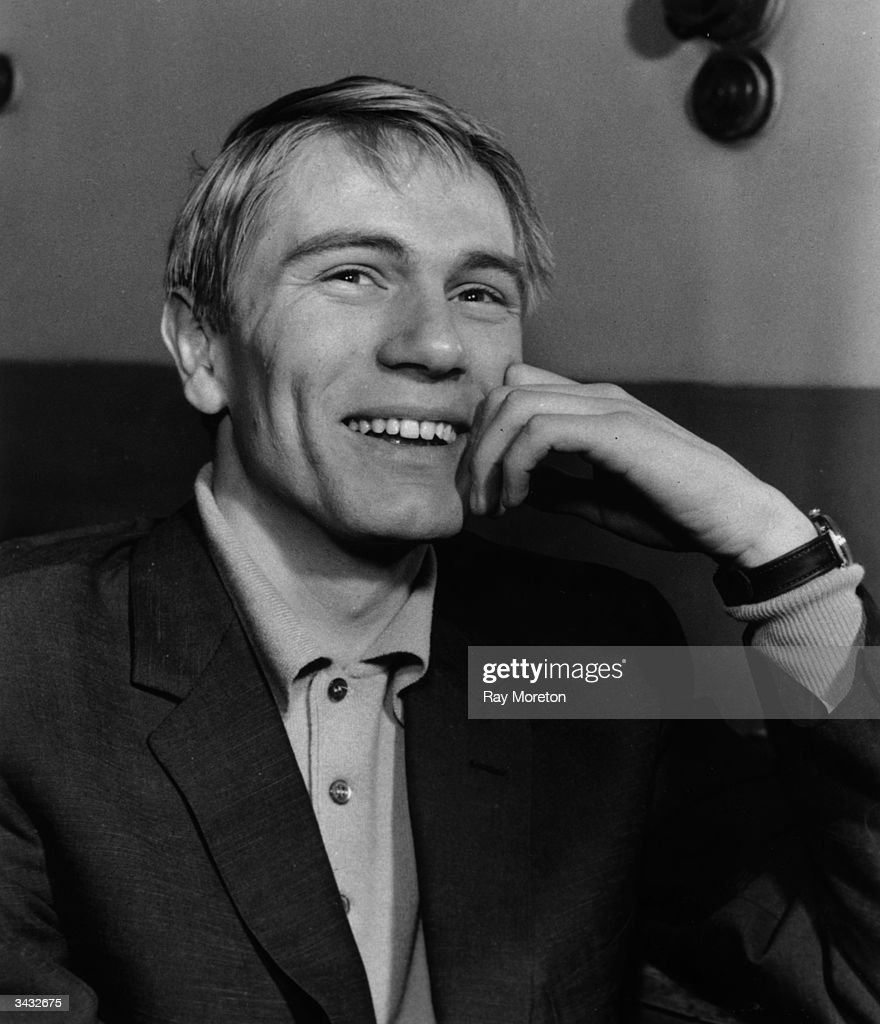 Nineteen year old pop singer and screen actor, Adam Faith (1940 - 2003), winner of a Golden Apple award.