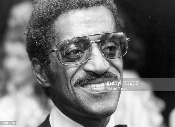 Sammy Davis Jnr American actor and popular singer