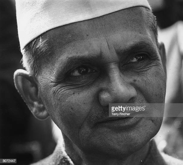 Lal Bahadur Shastri Prime Minister of India at the Commonwealth Prime Ministers Conference at Marlborough House London
