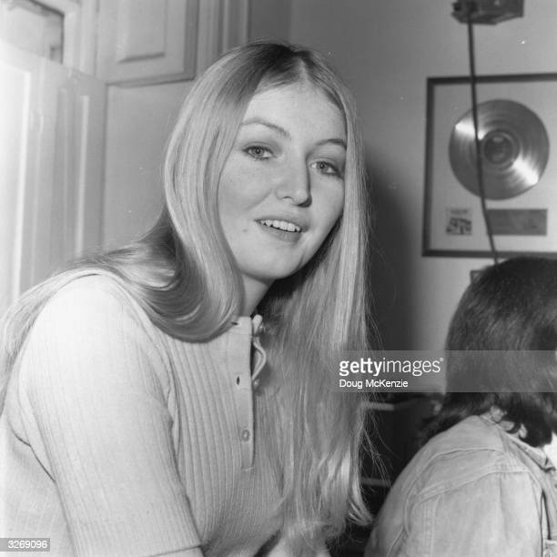 Welsh pop singer Mary Hopkin
