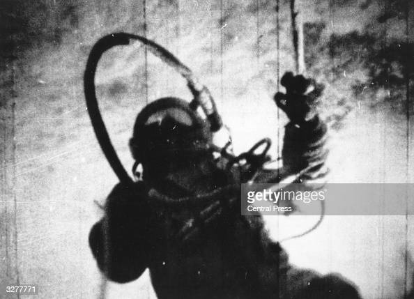 Russian astronaut Alexei Arkhipovich Leonov becomes the first man to walk in space during the 26 1/2 hour orbit of the spacecraft Voskhod 2