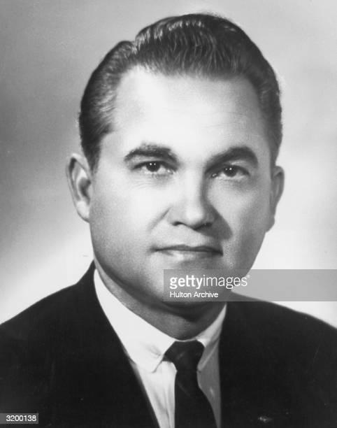 Headshot of Governor George C Wallace of Alabama
