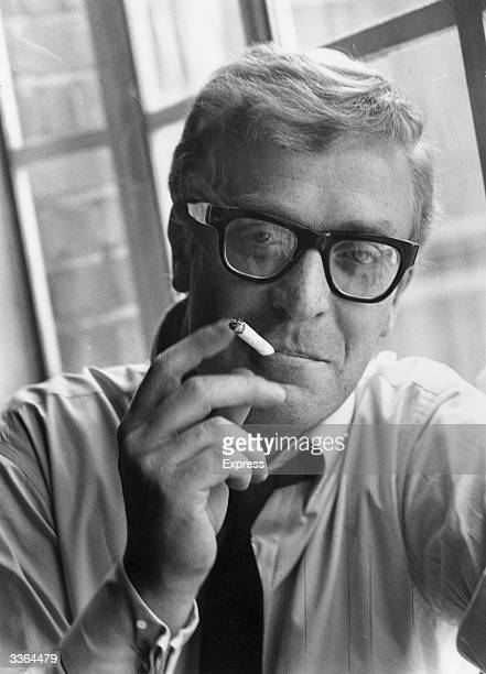 Actor Michael Caine who came to prominence for his roles in Zulu and The Ipcress File