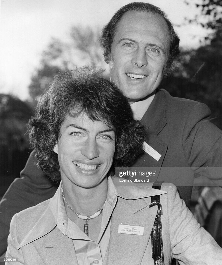 10 Jul 1945 British tennis star Virginia Wade born s and