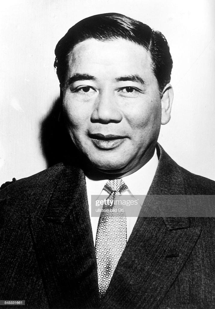 Politiker, (Süd-) VietnamPorträt- 1955
