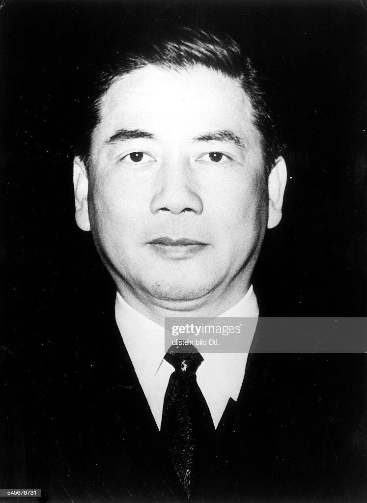 Politiker, (Süd-) VietnamPorträt- 1957