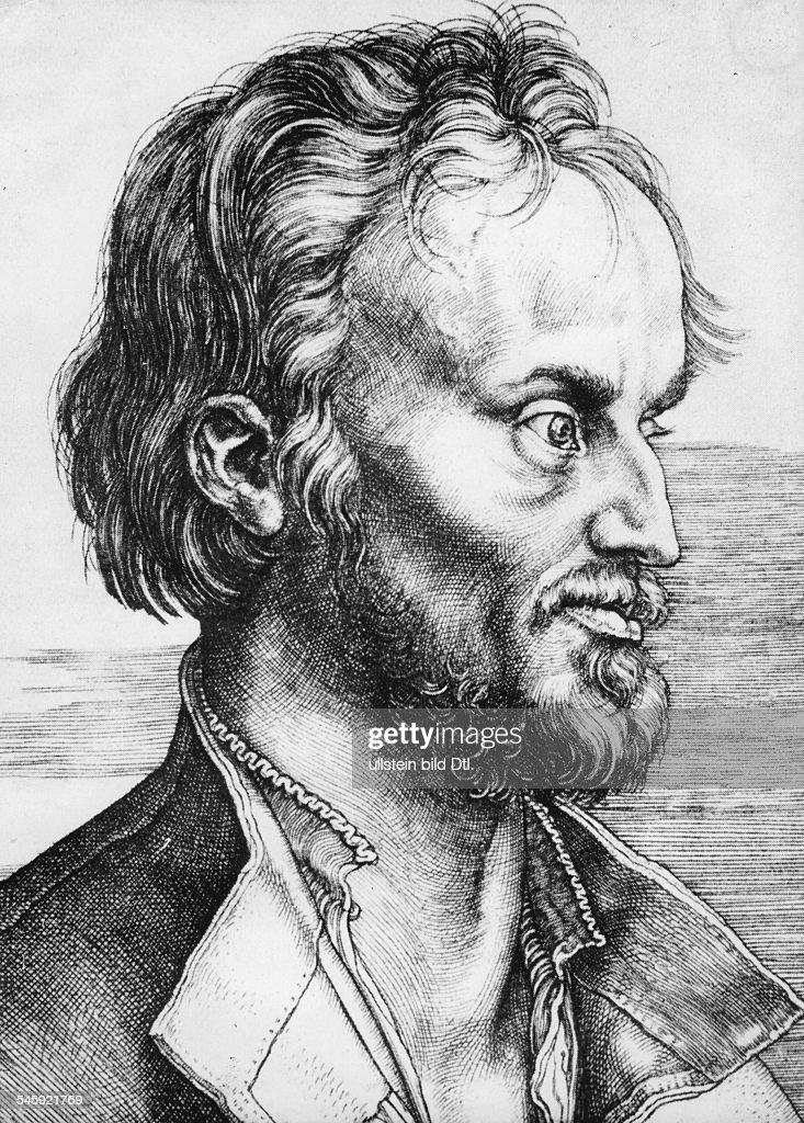 16.02.1497 - 19.04.1560Reformator, Humanist, Dzeitgenössischer Holzschnitt von AlbrechtDürer- 1526
