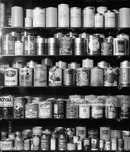 1920s 1930s 1940s TIN CANS...