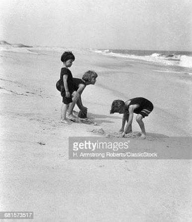 1920s 3 KIDS BOYS GIRLS...