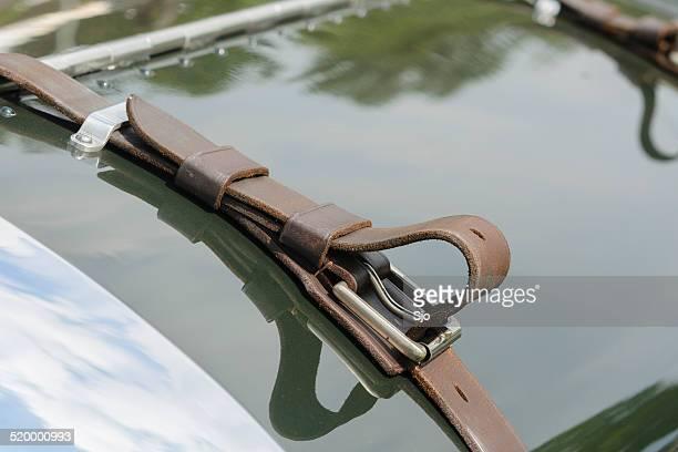 1920s Bentley classic car detail