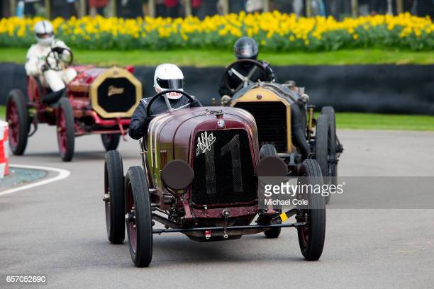 1921Alfa Romeo G1 in the SF Edge Trophy race during the 75th Member's Meeting at Goodwood on March 18 2017 in Chichester England