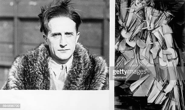 1926Paris France Marcel Duchamp who put a mustache on the Mona Lisa and popularized modern art died 10/2 He was 81 His painting Nude Descending the...
