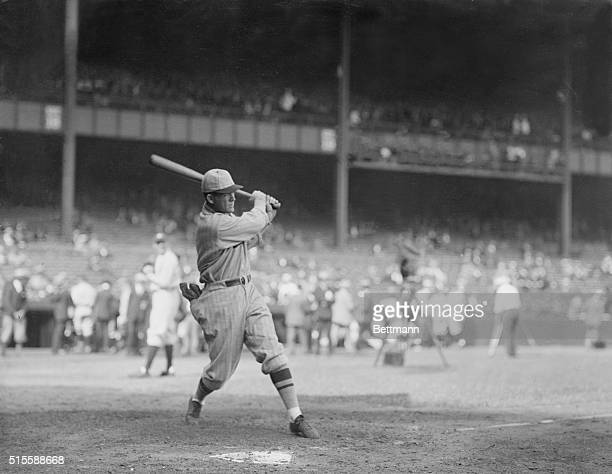 1926Rogers Hornsby taking batting practice before game 2 of the 1926 World Series He held the National Leagur batting champion title from 192025 and...