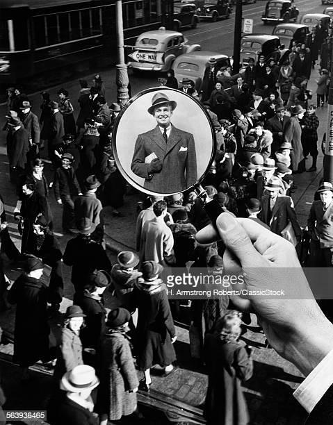 1930s 1940s PEDESTRIAN...