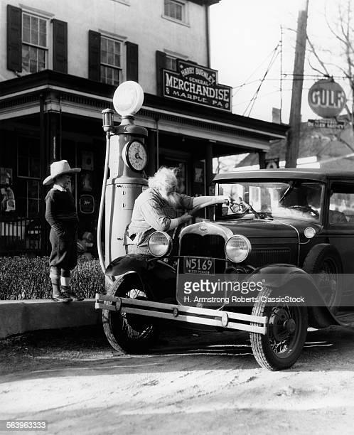 1930s ELDERLY GRANDFATHER...
