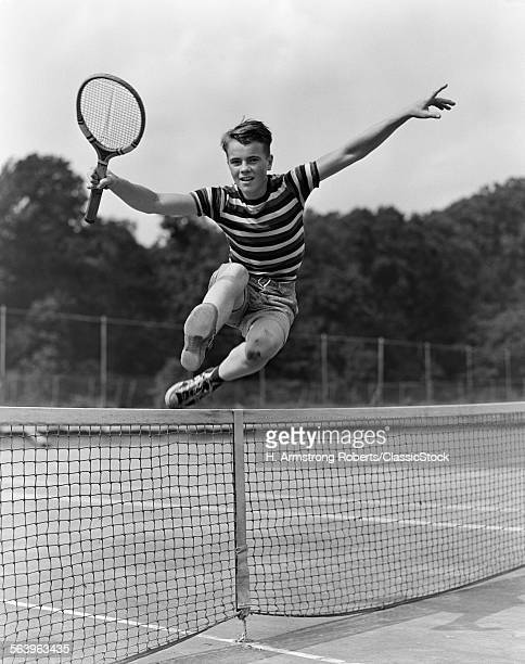 1930s TEENAGE BOY TENNIS...