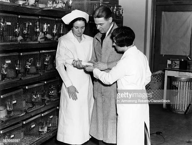 1930s TWO WOMEN NURSES AND...