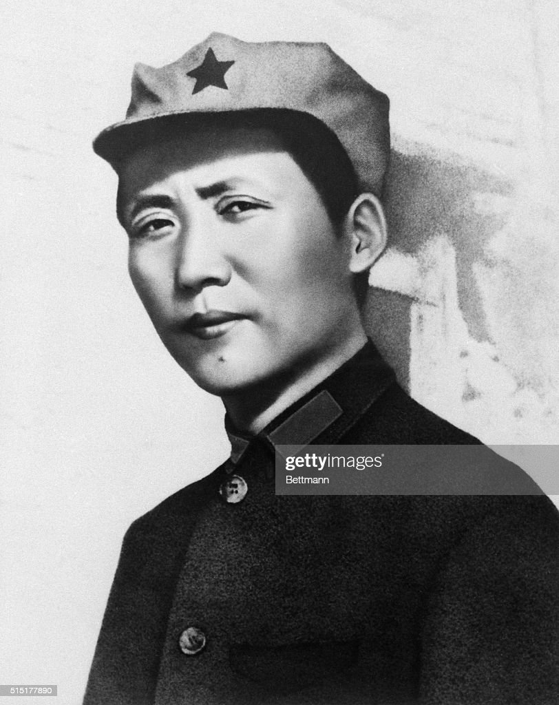 Great leader chairman Mao will live forever in our hearts. Chairman Mao Tse-Tung in Northern Shensi in 1936.