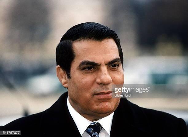 1936Politiker Tunesientunesischer StaatspräsidentPorträt 1997