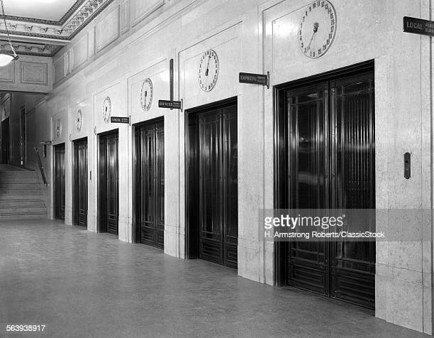 1940s 1930s ROW BANK OF...