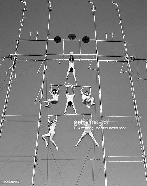 1940s AERIAL CIRCUS ACT