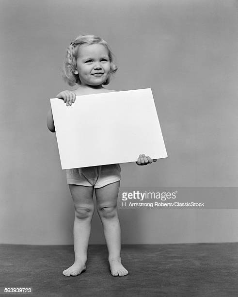 1940s BLOND TODDLER GIRL...