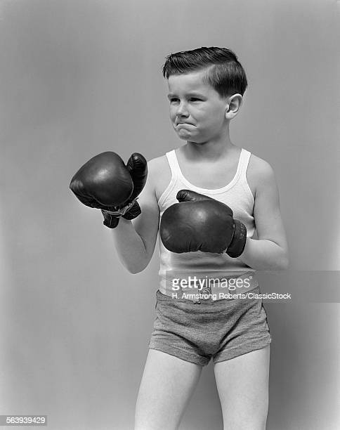 1940s BOY CHILD WEARING...
